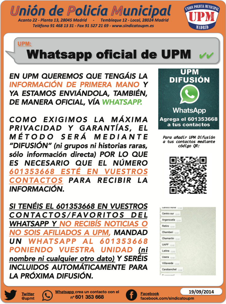whatsapp RRSS